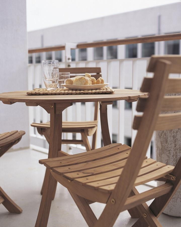 Stylowe meble ogrodowe z drewna