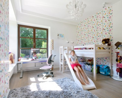 Wystrój pokoju dziecięcego dla dziewczynki Zawicka ID