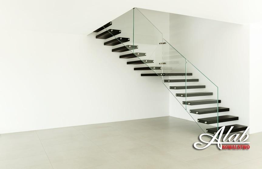 Balustrada szklana nowoczesna