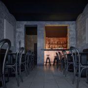 Stylowy czeski bar - Copper bar