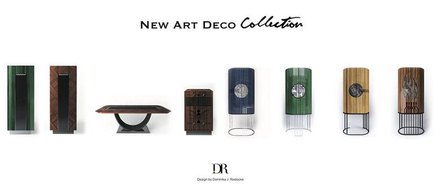 Kolekcja new art deco Dominika Rostocka