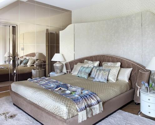 Sypialnia z łazienką na poddaszu Dominika Rostocka