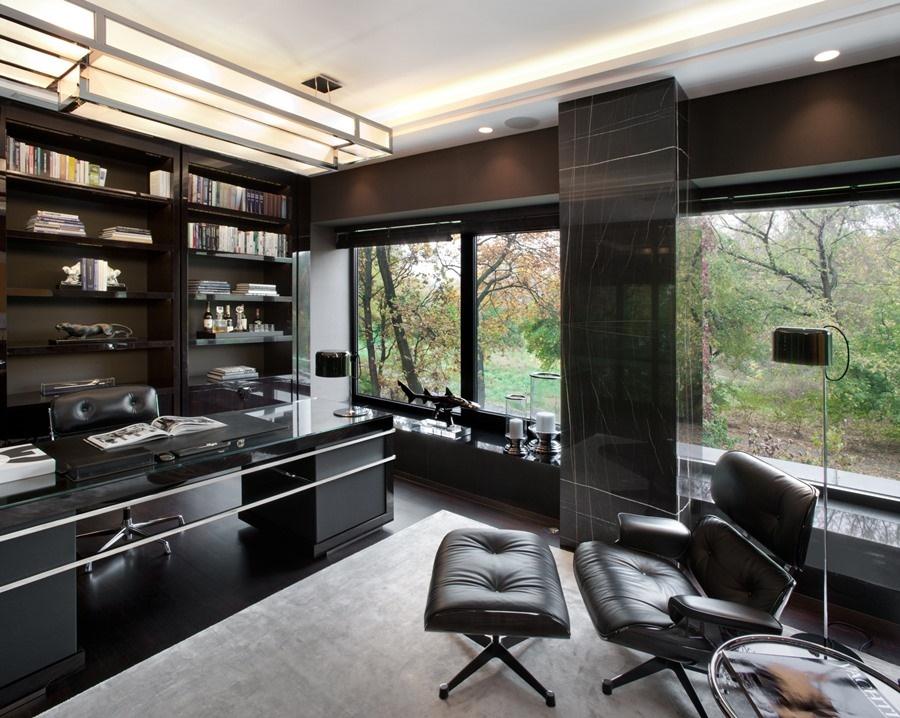 Wyposażenie gabinetu w luksusowym stylu