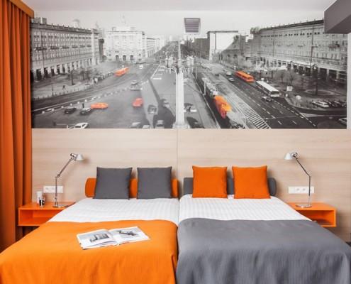 Wystrój pokoju hotelowego - Hotel MDM Justyna Smolec