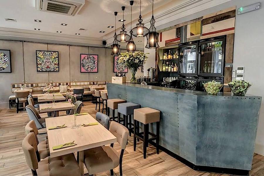 Wystrój restauracji Why Thai Dominika Rostocka