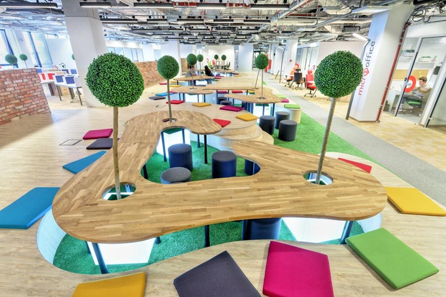 Kreatywne projektowanie biura