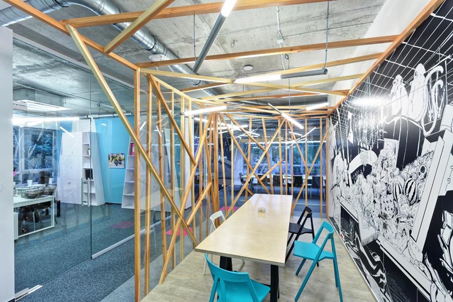 Kreatywne projektowanie biura - PIK Studio