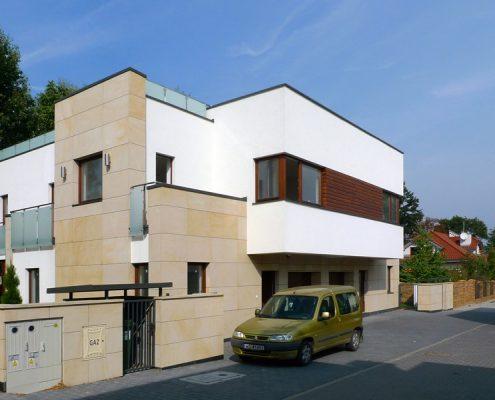 Bliźniacza zabudowa w nowoczesnym wydaniu A8 Architektura