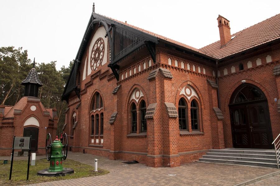 Hala Pomp Muzeum Wodociągow Bydgoszcz