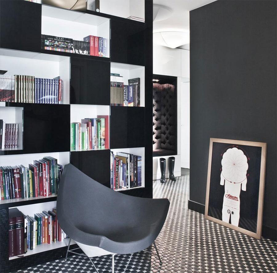 Biblioteka w domu - aranżacje