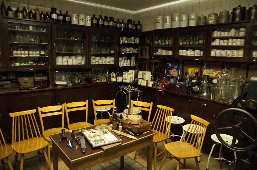 Muzeum Farmacji Apteki pod Łabędziem Bydgoszcz
