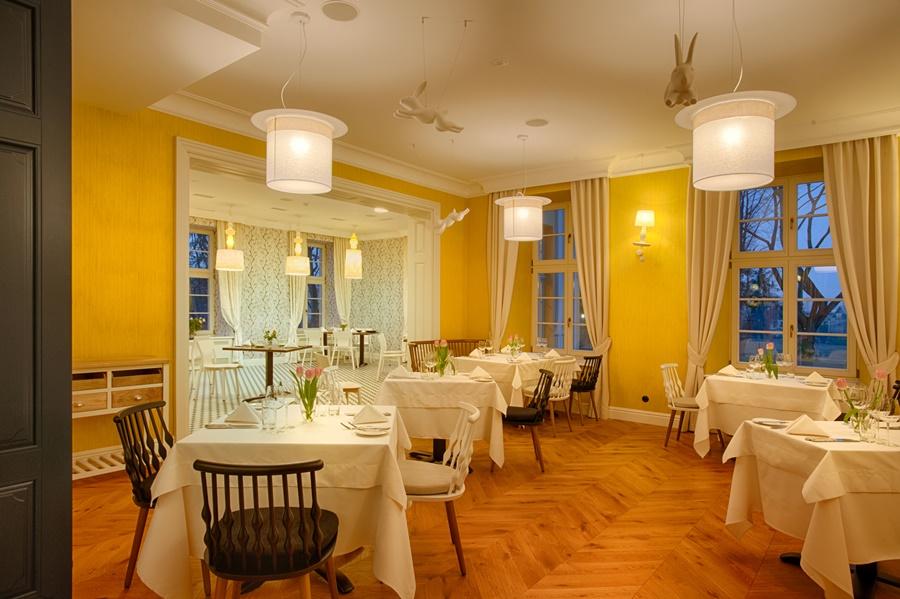 Autorska restauracja - hotel Quadrille