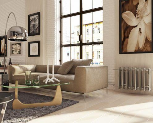 Aranżacja eklektycznego loftu Macan Design