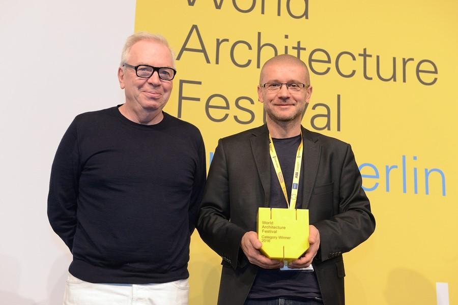 David Chipperfield i Robert Konieczy na WAF Berlin 2016