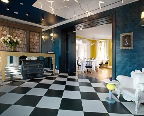 Eklektyczny wystrój hotelu Quadrille Magda Czauderna