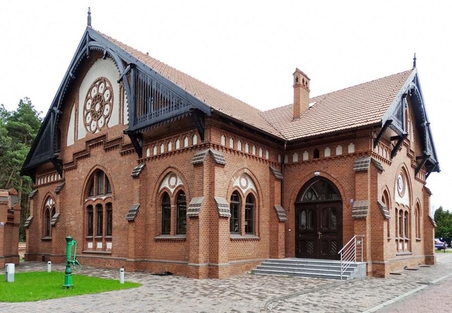 Hala Pomp bydgoskiego Muzeum Wodociągów