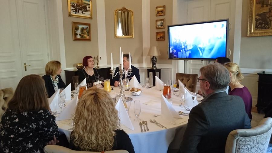 Nicolette Naumann na spotkaniu z prasą Homesquare