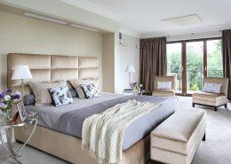 Przestronna sypialnia z balkonem Casamila