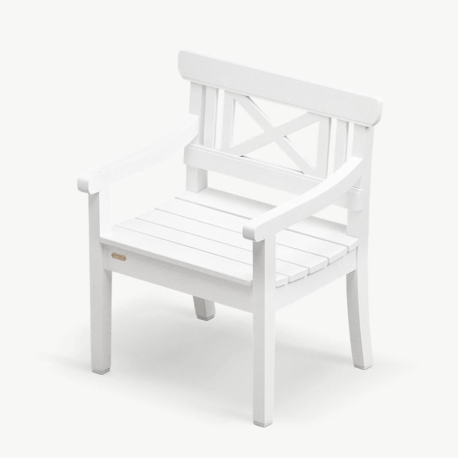 Białe Krzesło Ogrodowe Drachmann Skagerak