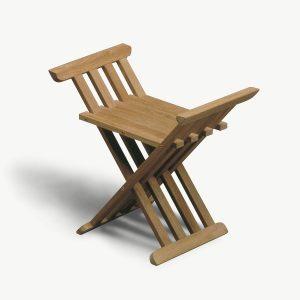 Krzesło składane z drewna tekowego