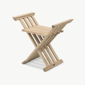 Krzesło składane z drewna dębowego