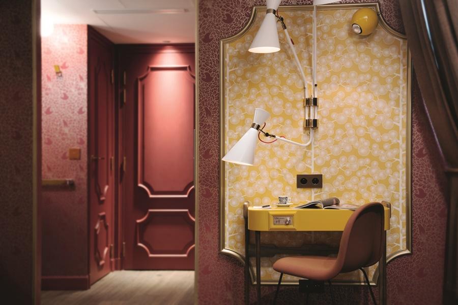 Stylowy hotel Idol Paryż pokój