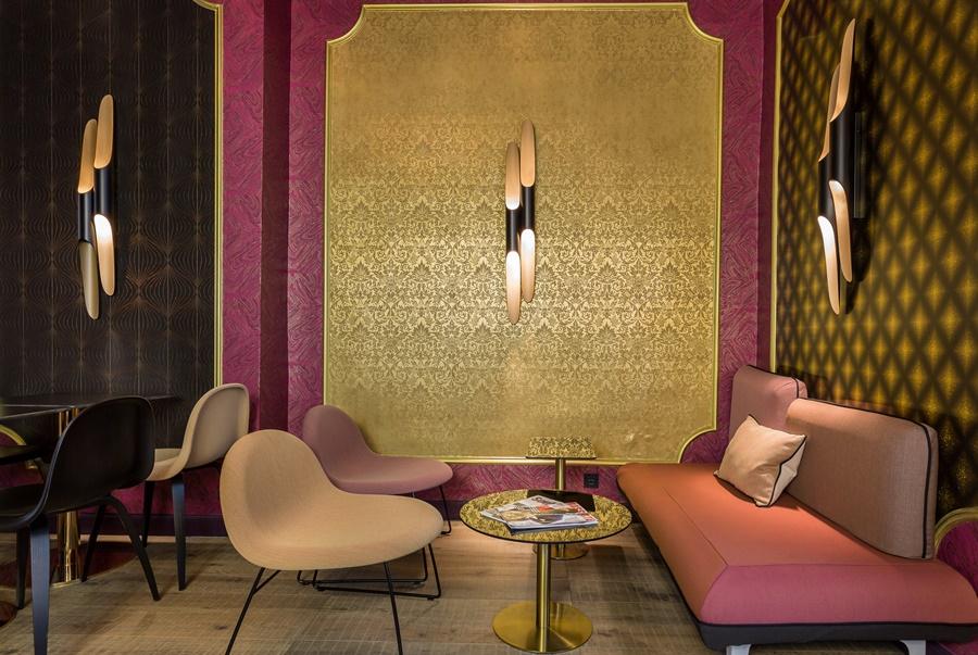 Stylowy hotel Idol Paryż styl vintage