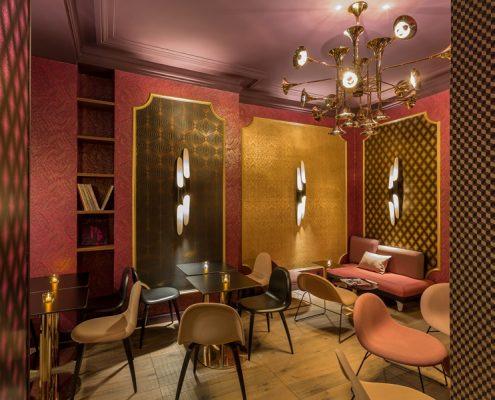 Stylowy hotel Idol Paryż r\Restauracja