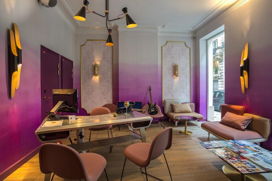 Stylowy hotel Idol Paryż pracownia