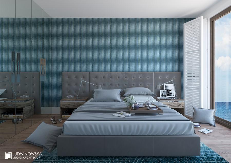Turkus w sypialni Jaki kolor do sypialni
