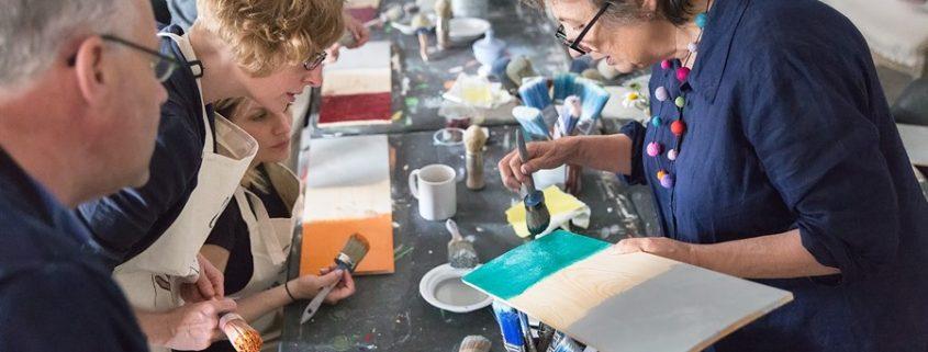 Warsztat malowania mebli farbami Annie Sloan w Bydgoszczy