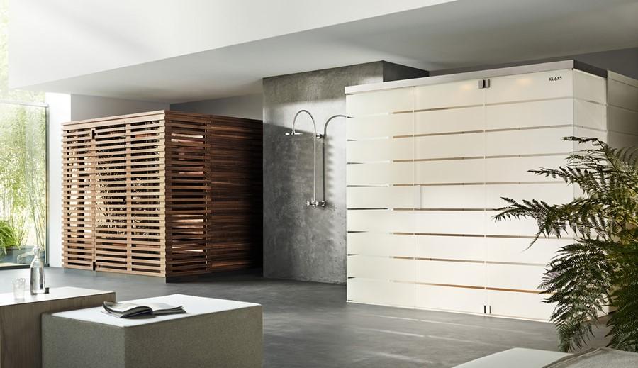 Domowe SPA - łaźnia parowa i sauna Klafs - MatteoThun