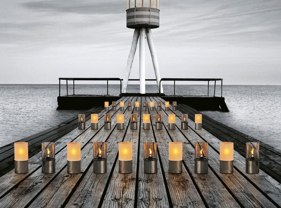 Erik Magnussen lampy oliwne dekoracje wnętrze