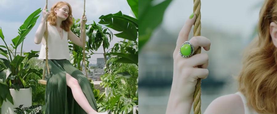 greenery moda kolor 2017