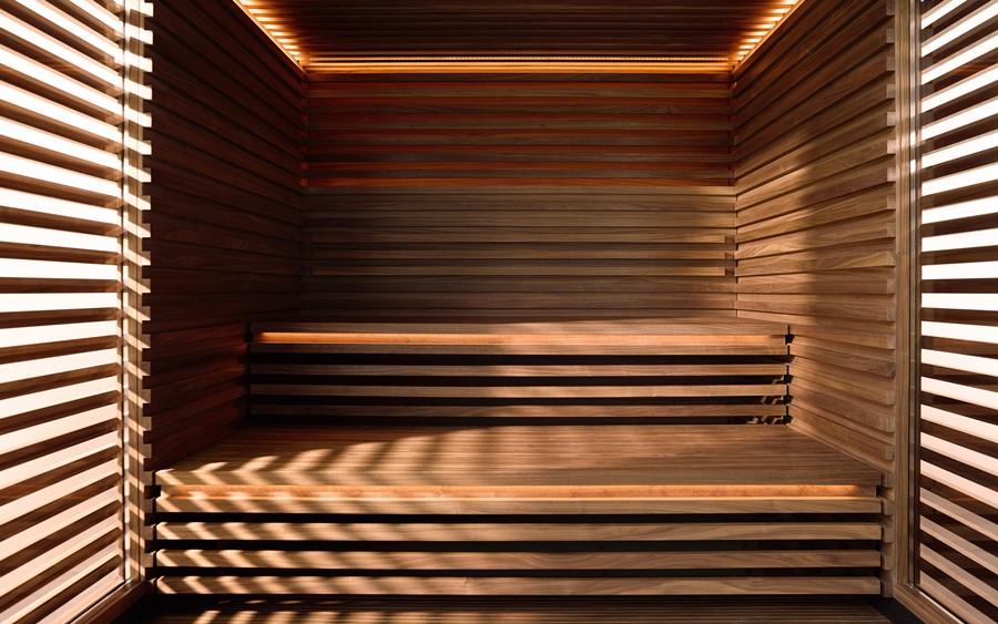 Drewniana sauna Klafs