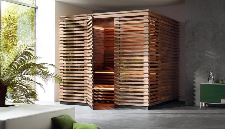 Stylowa sauna Klafs