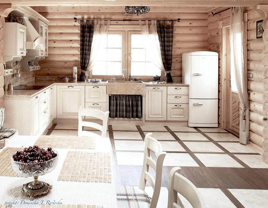 Aranżacja kuchni w rustykalnym stylu Dominika Rostocka