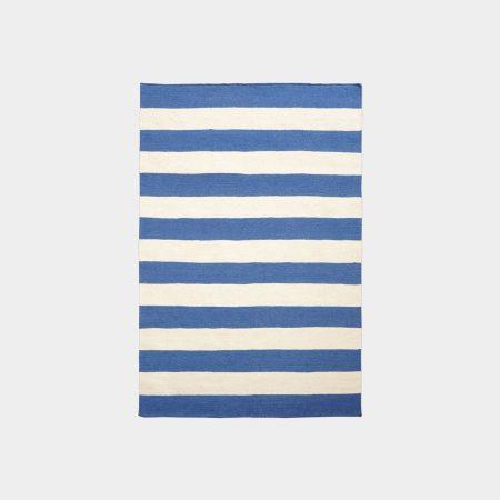 Biało-niebieski dywan Hampton White Oaks
