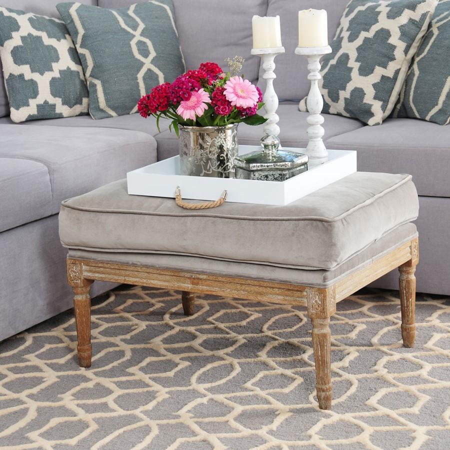 Dywan Moroccan Pattern - dywan w salonie