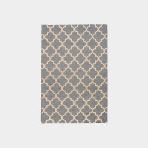 Klasyczny dywan Moroccan Trellis Grey White Oaks