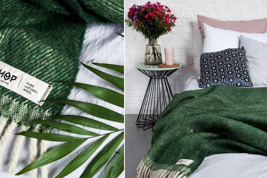 Koc Hop Design tekstylia Hygge