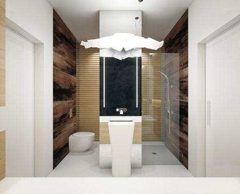 Oryginalna łazienka w naturalnych kolorach Concept