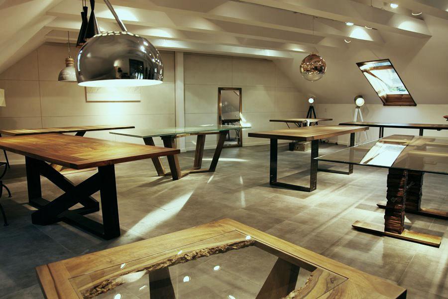 Stoły wykonane na indywidualne zamówienie - Manufaktura Art Loft