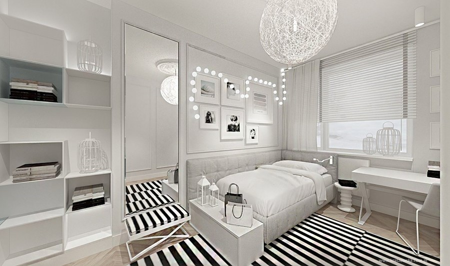 Stylowy pokój dla nastolatki Katarzyna Kraszewska