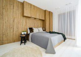 Sypialnia otwarta na salon Minimoo