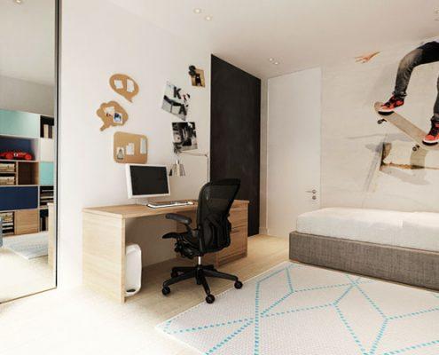 Biały pokój dla nastolatka Kraszewska