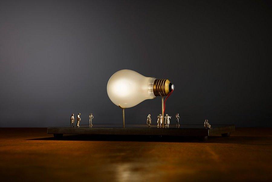 I Ricchi Poveri - Monument for a Bulb 2014 r. - Ingo Maurer