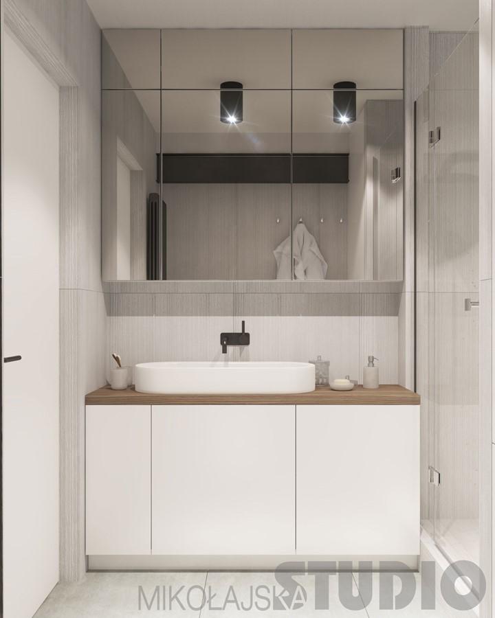 Mała łazienka W Bieli Homesquare