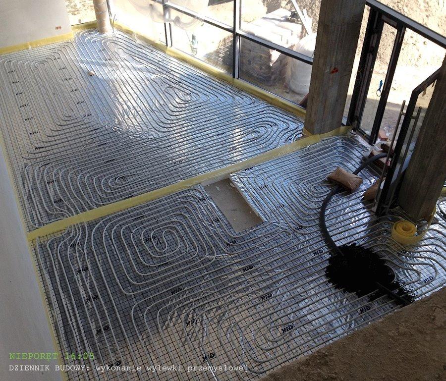Nauka projektowania wnętrz - ogrzewanie podłogowe