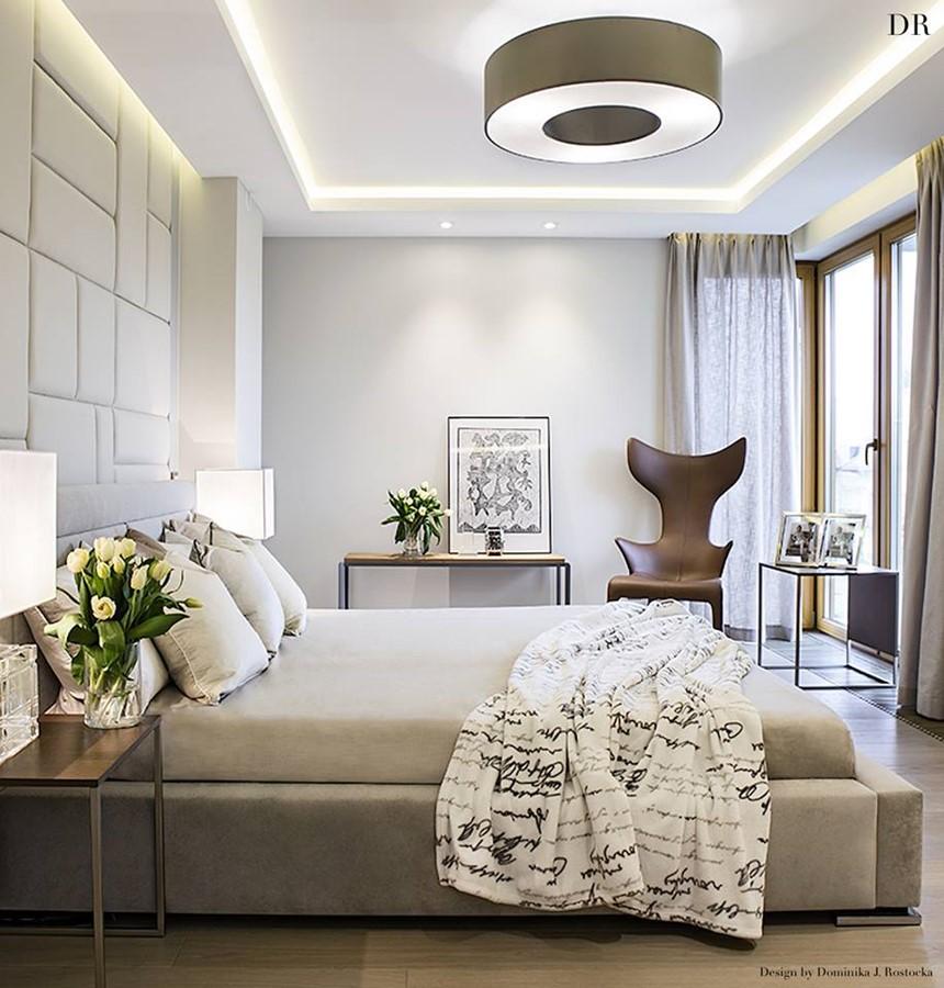 Ekskluzywne sypialnie - pomysł na sypialnię w wariancie de Luxe - Architektura, wnętrza ...